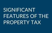 Significant Features of the Property Tax